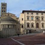 Arezzo Piazza grande.